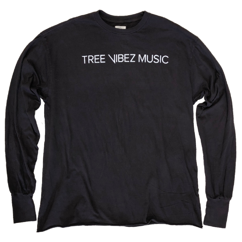 Tribe Kelley Long Sleeve Black Tee