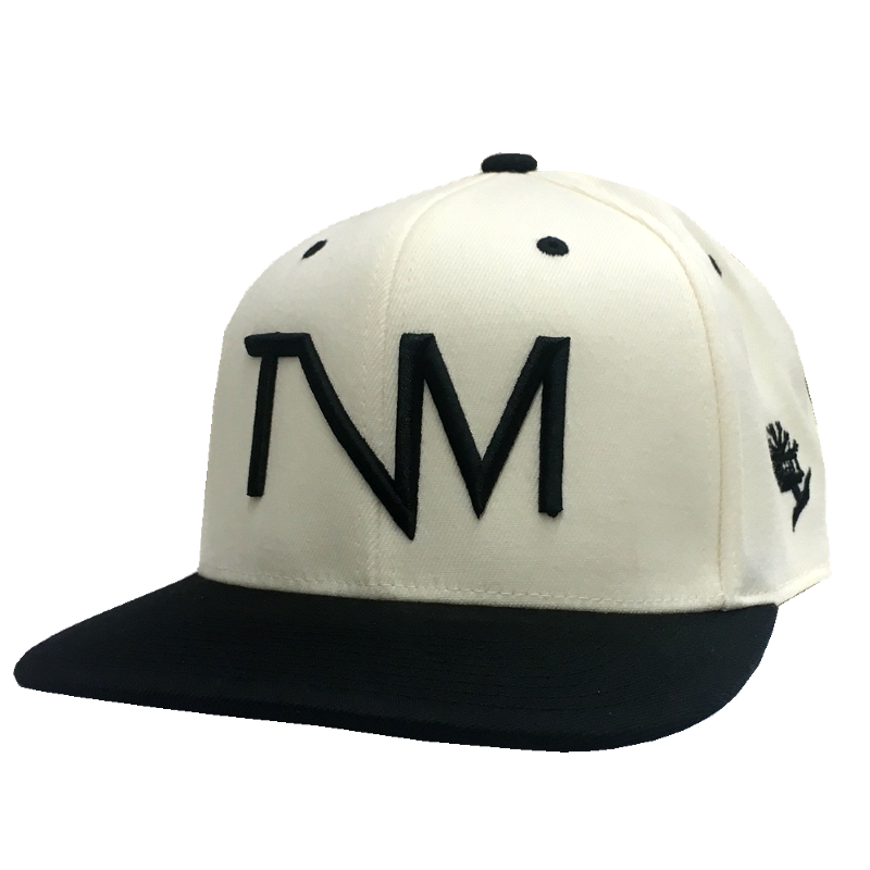 Tree Vibez Music Natural and Black Logo Ballcap