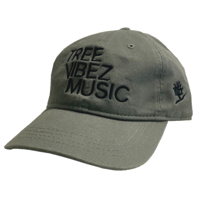 Tree Vibez Music Olive Ballcap