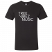 Tree Vibez Music Black Logo Tee